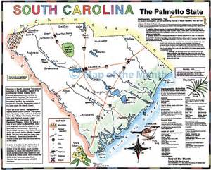 map of the carolinas and south carolina map maps for the classroom