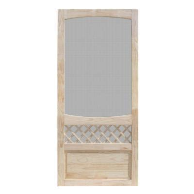 home depot wooden screen doors unique home designs 32 in x 80 in unfinished