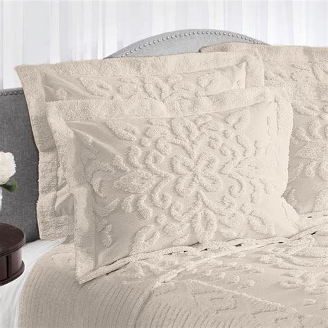 chenille comforter silvia solid color cotton chenille bedspread bedding