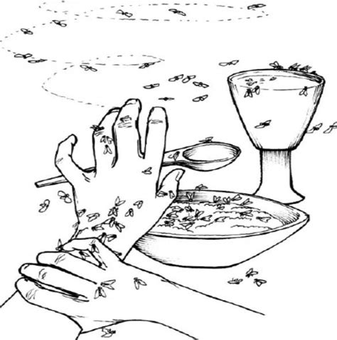 Moses And The Plagues Coloring Pages Free Coloring Pages Of Plague Of Flies by Moses And The Plagues Coloring Pages
