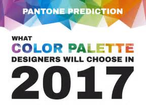 pantone s color of the year 2017 infographic pantone prediction of color palettes for