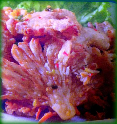 resep jamur tiram goreng krispy pedas resep masakan