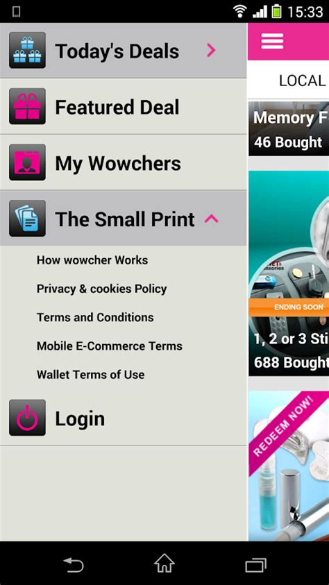 Wowcher Gift Card - wowcher deals vouchers android apps on google play