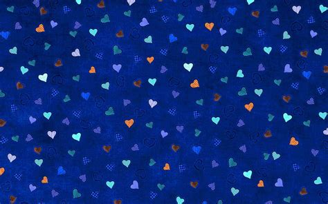 Blue Hearts Background Wallpaper - WallpaperSafari Blue Heart Background Wallpaper