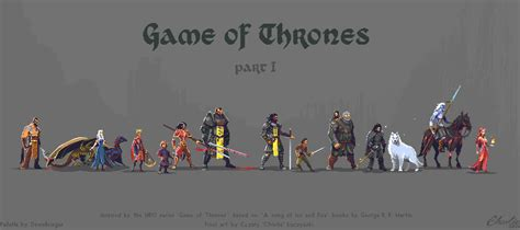 animated wallpaper game of thrones pixel art game of thrones character set part i by