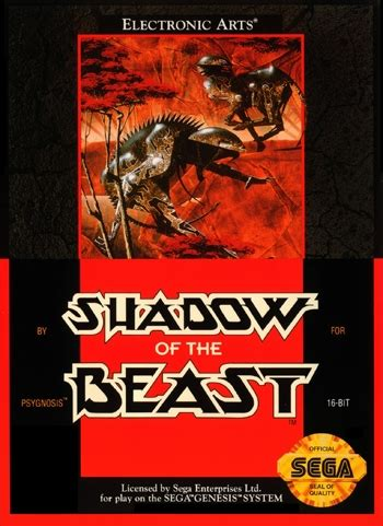 Diskon Ps4 Shadow Of The Beast Region 3 Asia shadow of the beast sega genesis