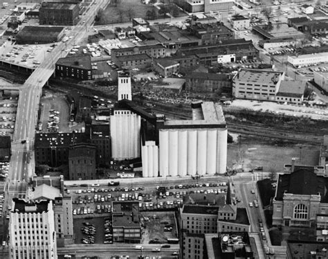 Historic Illinois From The Air file quaker oats factory akron jpg wikimedia commons