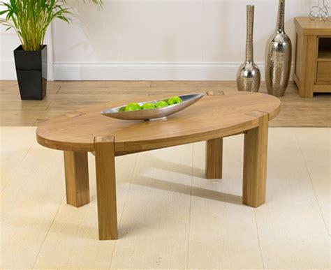 Oval Oak Coffee Table Palermo Oak Oval Coffee Table Oak Furniture Solutions