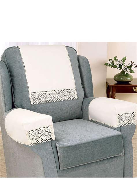 armchair protectors uk non slip cotton lace furniture accessories home living