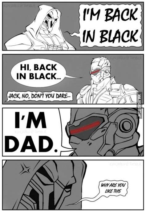 Dad Comic Meme - the true dad of the overwatch pinterest dads the o