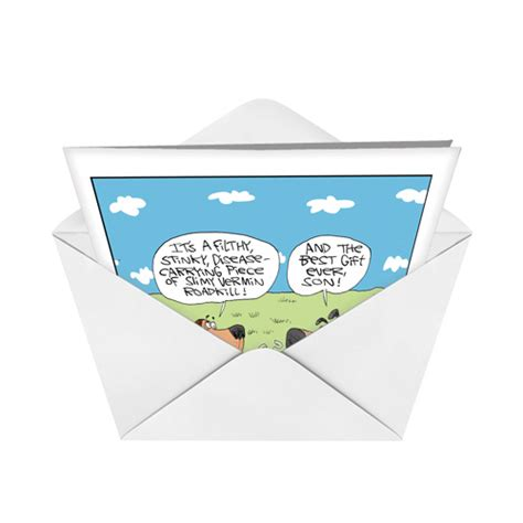 Coolest Gift Cards Ever - best gift ever cartoons birthday card gary mccoy