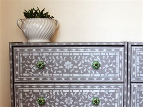 17 best images about indian inlay stencil on pinterest stenciled stairs furniture and ikea