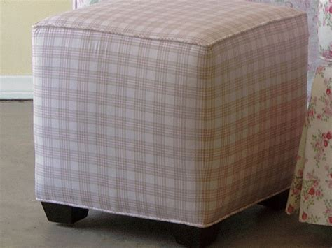 ottoman slipcover pattern cube ottoman slipcover pattern home design ideas