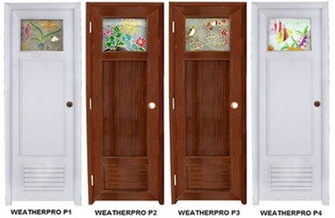 kelebihan pintu kamar mandi pvc desain gambar