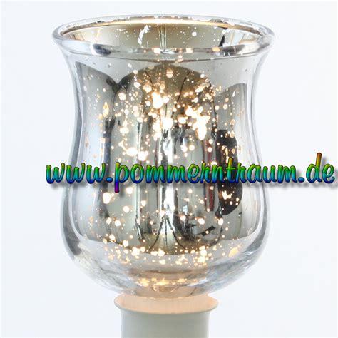 Kerzenhalter Mit Glasaufsatz by Teelichtaufsatz Windlichtaufsatz Bauern Silber