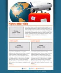 Travel Newsletter Templates by Free Travel Agency Newsletter Templates