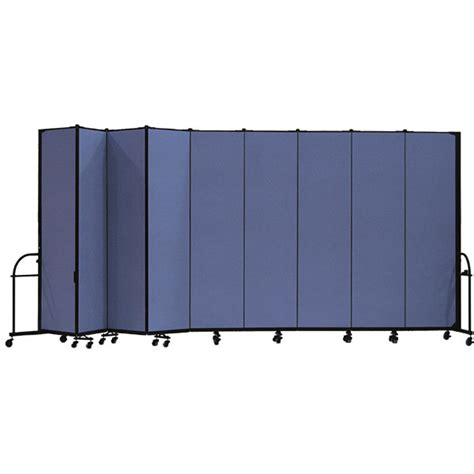daycare room dividers screenflex hfsl749 7 4 quot heavy duty portable room divider