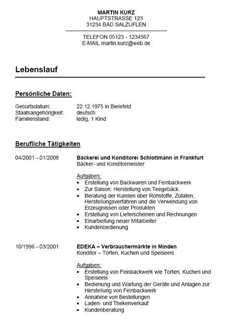 Bewerbung Auf Ausgeschriebene Stelle Musterbewerbung B 228 Ckermeister In Zum