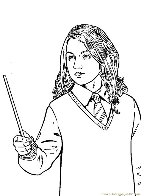 harry potter coloring pages ginny weasley harry potter ginny coloring page coloring home