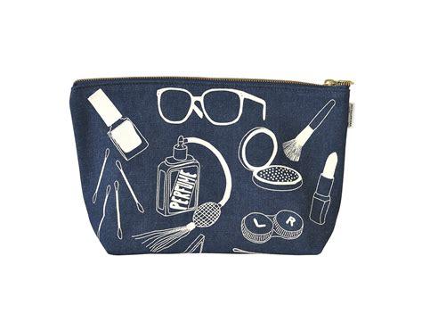Makeup Pouch maptote makeup pouch denim