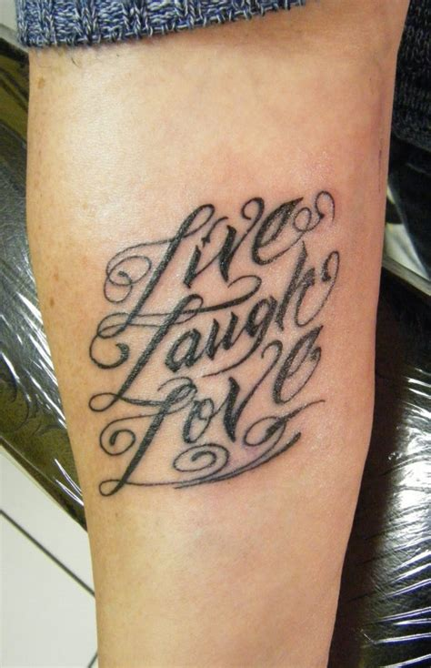 live love laugh tattoo on wrist live laugh tattoos designs ideas and meaning