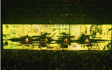 U2 At Square Garden by U2 And The Of Digital Compromise The Nation