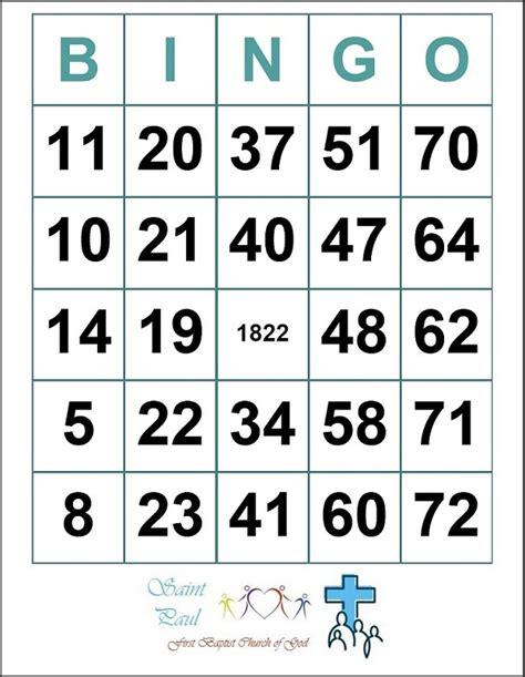 bingo template pdf sle bingo card template sle bingo card template