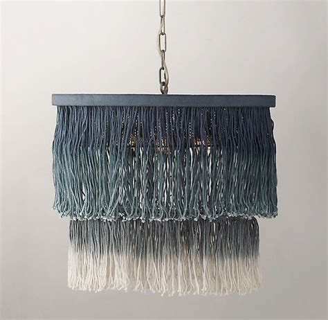 Ombre String - ombre string tiered pendant blue rh