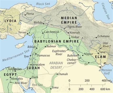 babylon and jerusalem map babylonian empire maps kurdistan