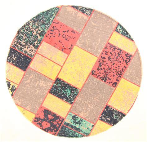 runder teppich 160 rund teppich 160 cm bastia rund bunt