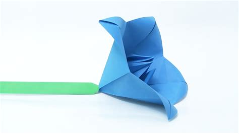 Origami Bell - origami bell flower gallery flower arrangements ideas