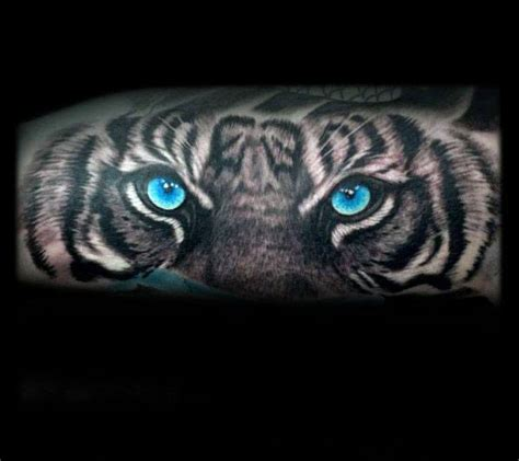 blue eye tattoo 40 tiger designs for realistic animal