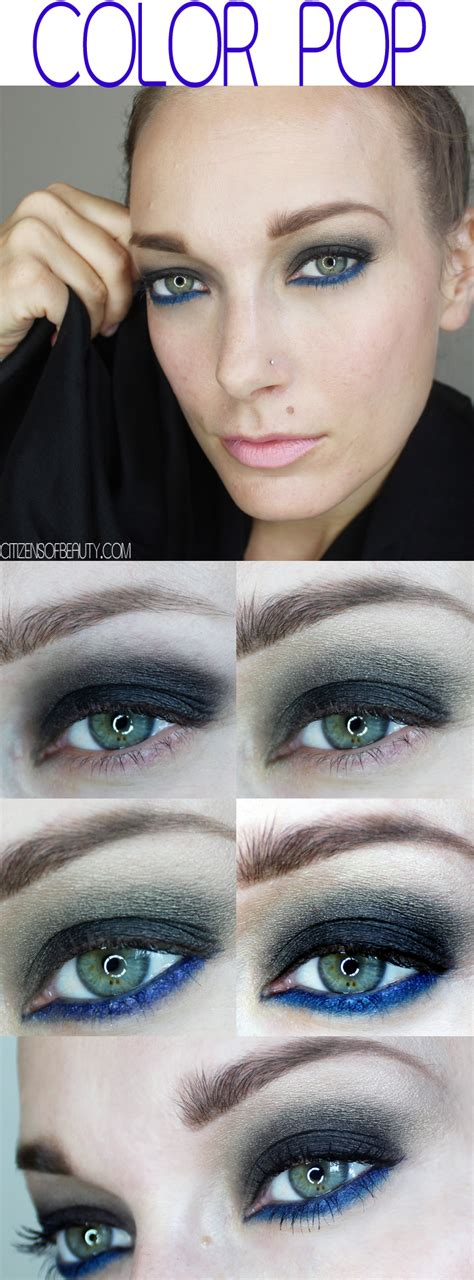 color pop makeup fall makeup looks color pop makeup tutorial citizens of