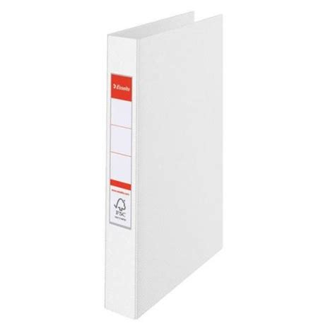 esselte vivida a4 ring binder white 14449 lz05133
