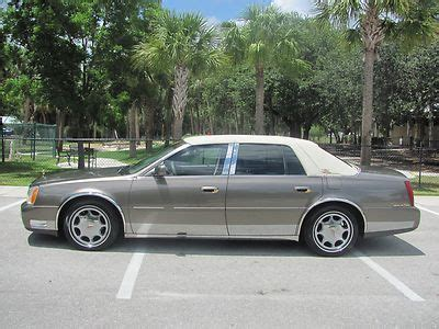 old car owners manuals 2003 cadillac deville auto manual find used vintage edition 2003 deville 2 owner carfax certified florida car very clean in