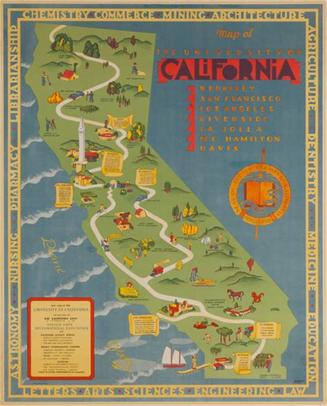 california map poster dp vintage posters map of the of california