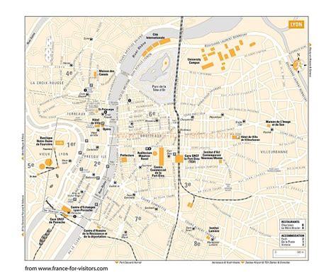 lyon on a map lyon map and lyon satellite image