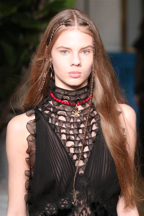 hairstyles for long hair fall 2017 runway inspired braids hairstyles 2017 fall hairdrome com