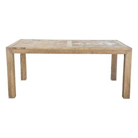 Recycled Dining Tables Recycled Solid Elm Dining Table W 180cm Bruges Maisons Du Monde