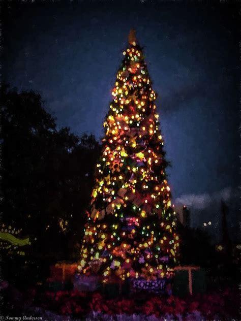 human christmas tree epcot 14 best in america america images on orange county disneyland