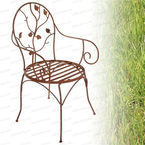 chaises en fer forgé cuisine nos objets d masfer chaises fer forg 233 maison