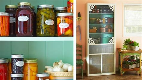 Food Pantry Cabinet Plans