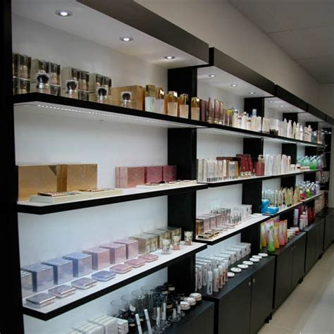 Shop Wall Shelving Skincare Cosmetics Display Cabinets Kiosks Creative