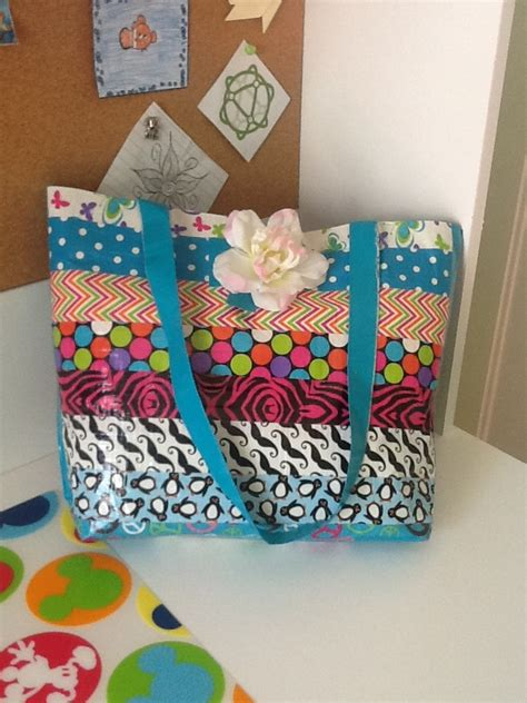 duct craft ideas for diy duct tote craft ideas