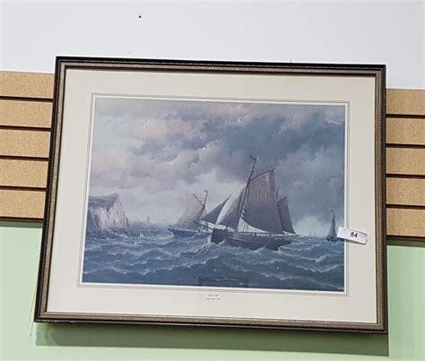 sailboat prints framed sailboat print