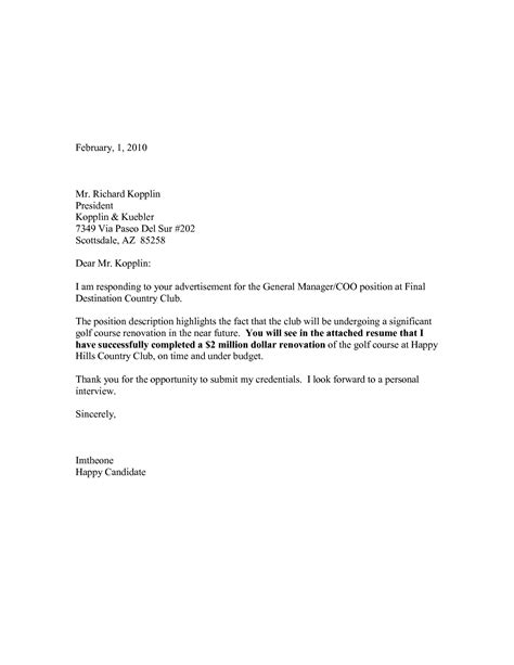 exceptional cover letter exles choice image letter