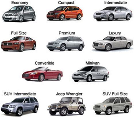 Car Types By Size by Enterprise Intermediate Suv Choices 2017 2018 2019