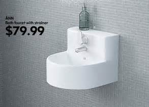 here the ann sink which includes faucet its small wall bathroom furniture ideas ikea