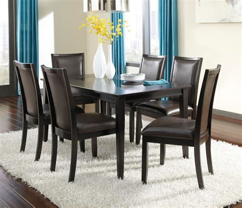 Trishelle Dining Room Table by Trishelle Rectangular Dining Room Set From D550 25