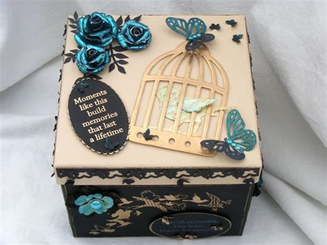 memory box decorating ideas to decorate a box for her to